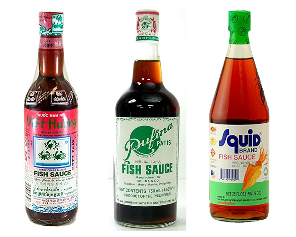 Oyster sauce vs fish sauce for Red fish sauce