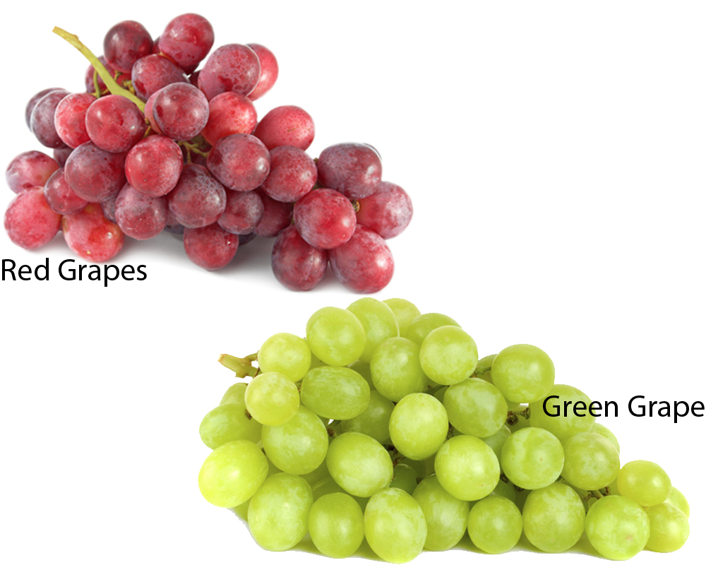 Red Grapes vs Green Grapes 1