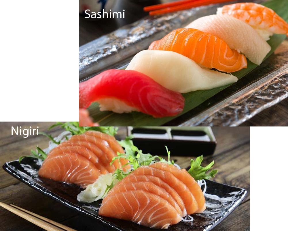 Sashimi vs Nigiri 1