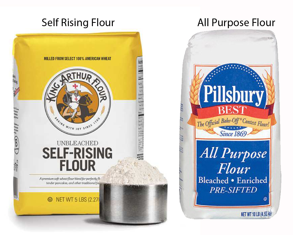 Self Rising Flour vs All Purpose 1
