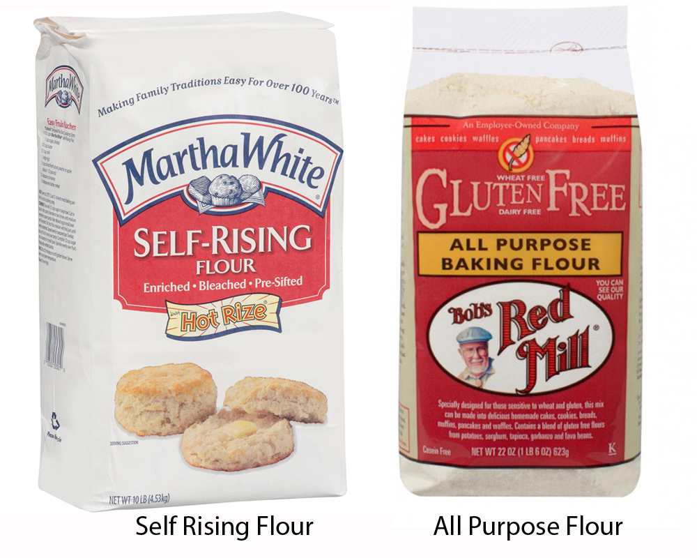 Self Rising Flour vs All Purpose 2