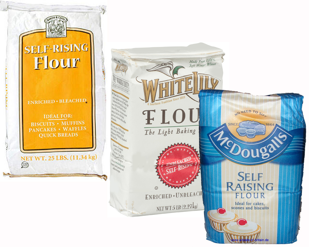 Self Rising Flour vs All Purpose a