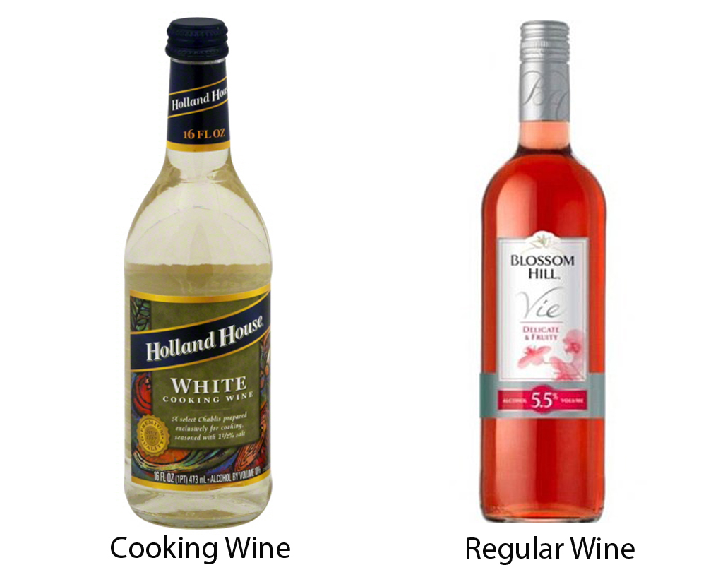 Cooking Wine vs Regular Wine 1