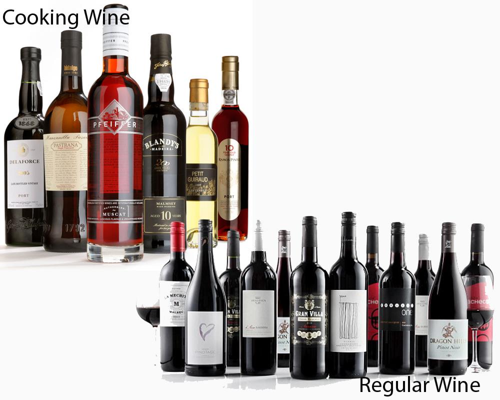 Cooking Wine vs Regular Wine 2