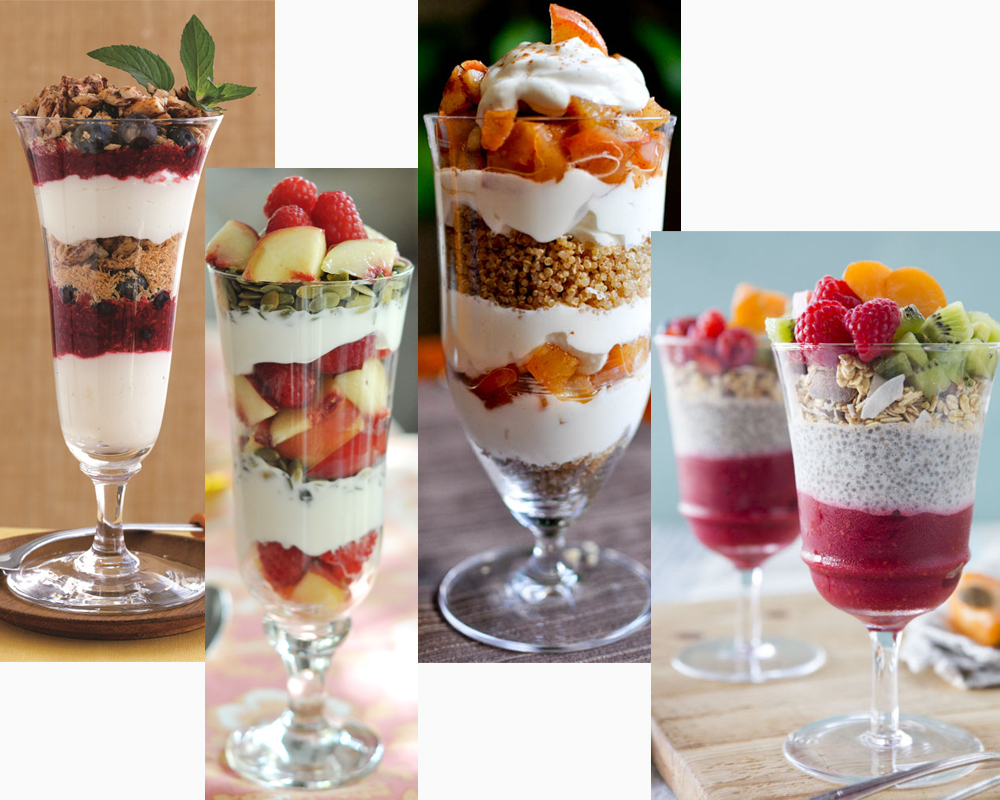 Parfait vs Yogurt a