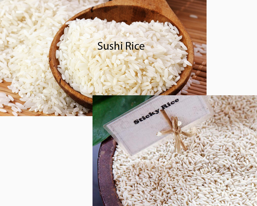 Sushi Rice vs Sticky Rice 2