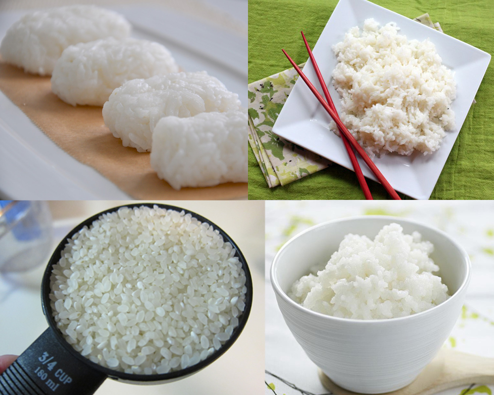 Sushi Rice vs Sticky Rice a
