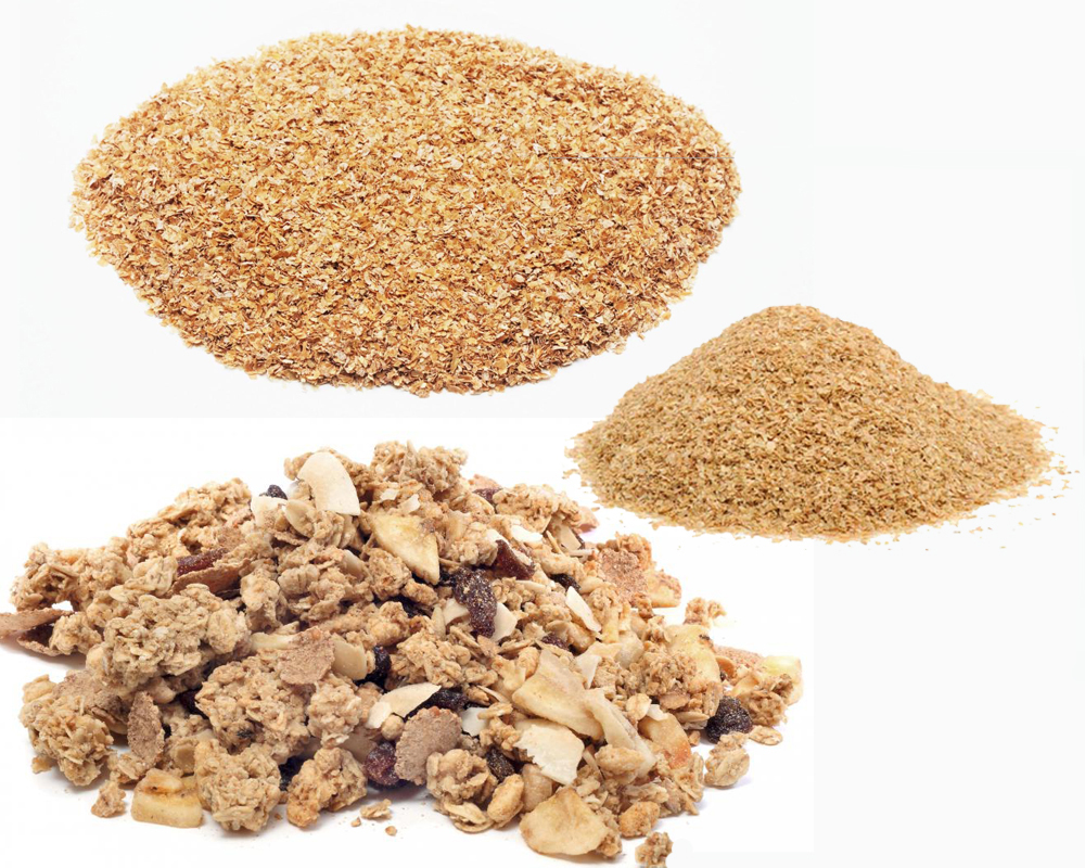 Wheat Germ vs Wheat Bran b