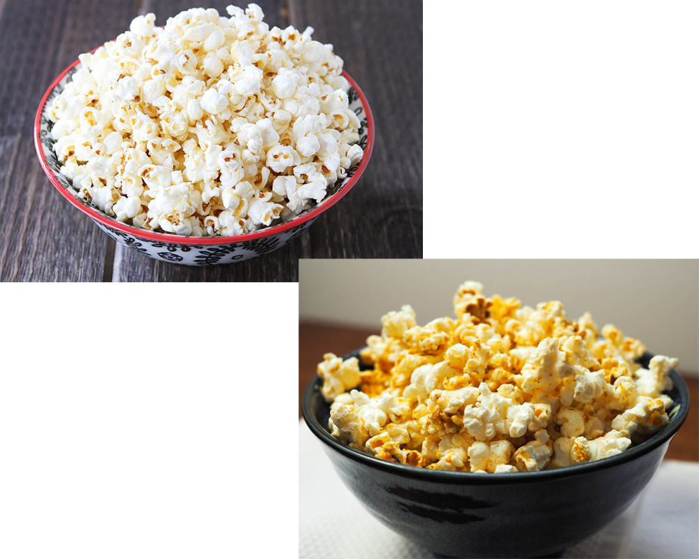 Kettle Corn vs Popcorn 2