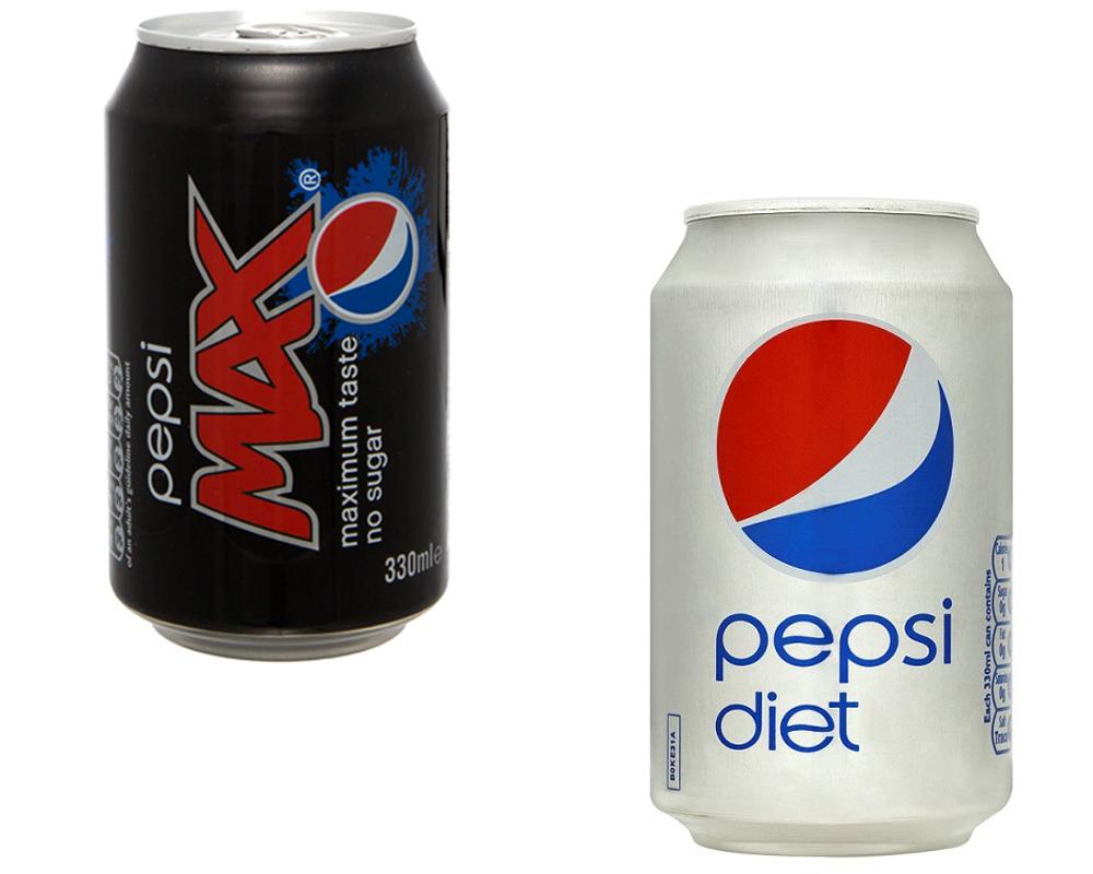 Pepsi Max vs Diet Pepsi