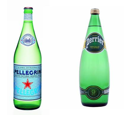 Pellegrino vs Perrier