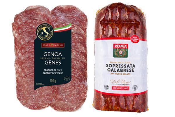 Genoa Salami vs Sopressata