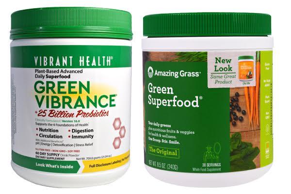 Green Vibrance vs Amazing Grass