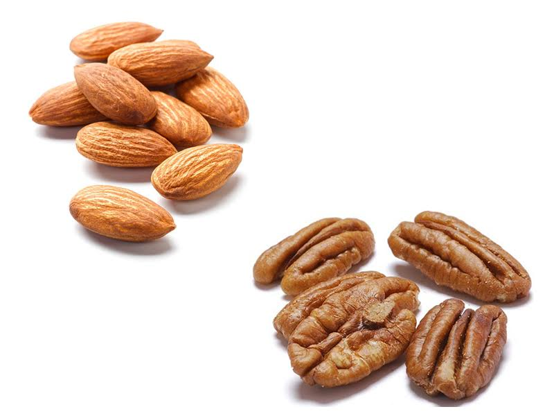 Almonds vs Pecans