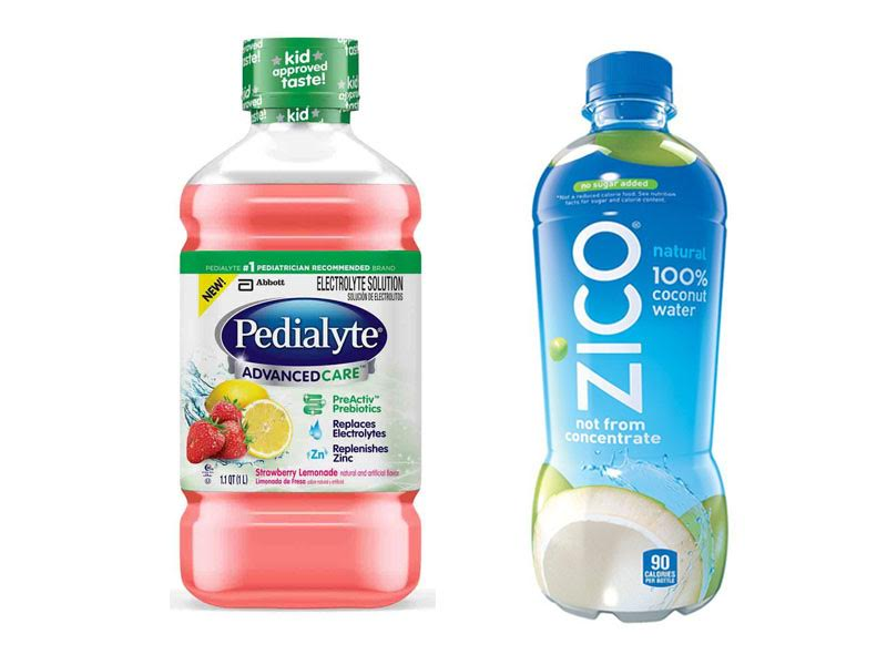 Pedialyte vs Coconut Water