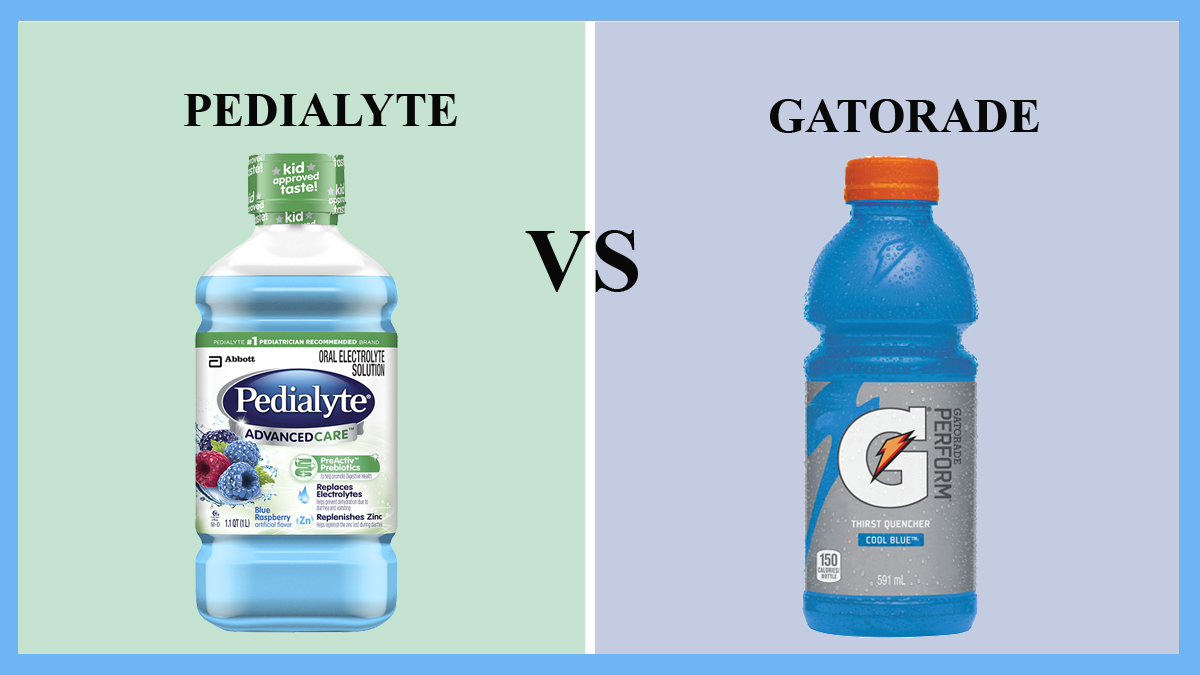 is pedialyte better than sports drinks