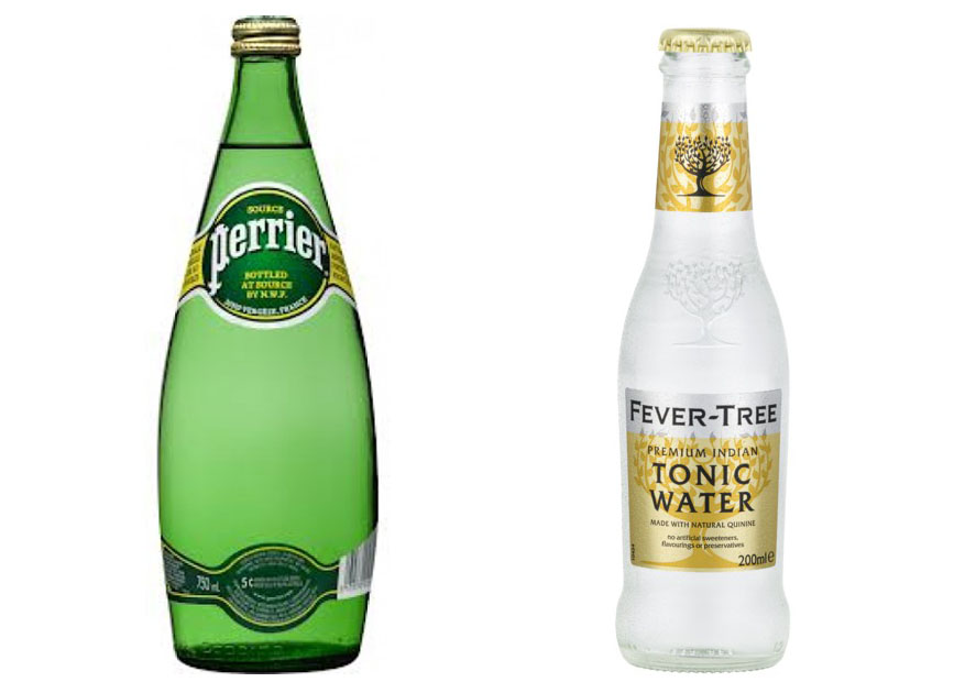 Perrier vs Tonic Water