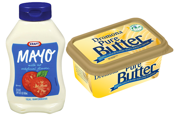 Mayo vs Butter