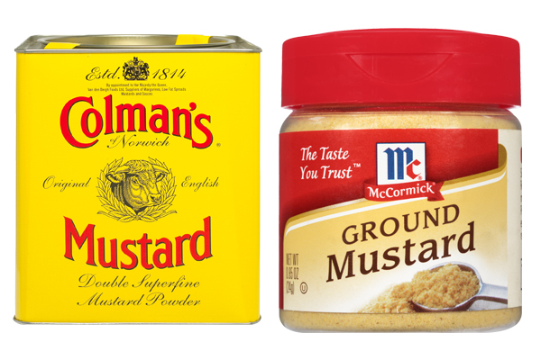 dry mustard vs ground mustard