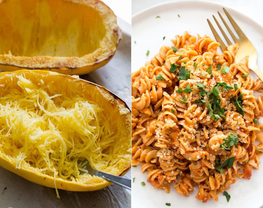 how to make spaghetti squash pasta